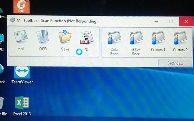 CanonD520 không scan được trên Windows 10
